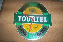horloge métal publicitaire de bistrot biere tourtel