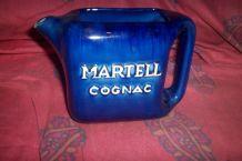 ancien pichet céramique bistrot pub martel cognac