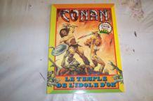 BD CONAN LE TEMPLE DE L'IDOLE D'OR de 1980