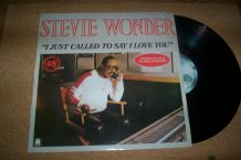DISQUE MAXI 45 TOURS STEVIE WONDER