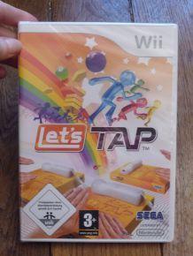 """Jeux """"Let's Tap"""" -Neuf, encore emballé- pour Wii- Nintendo"""
