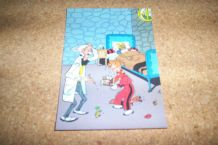 lot 5 cartes postales  BD spirou NEUVES