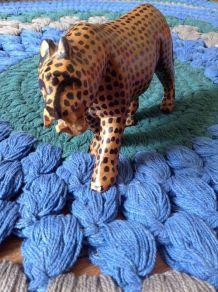 Leopard bois HAND MADE Kenya