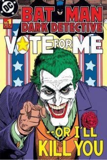 Affiche Batman Dark Détective : The Joker