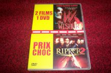 DVD 2 FILMS D'HORREUR RIPPER 2 + wisher
