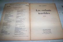 roman ancien les enfants terribles de jean Cocteau