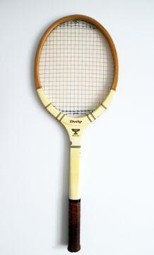 Raquette de tennis vintage Dunlop