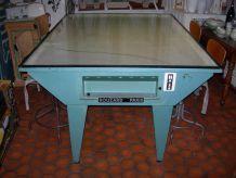 TABLE INDUSTRIELLE D'IMPRIMERIE