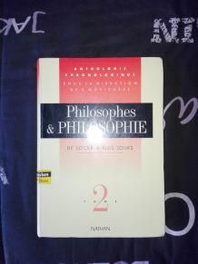 "Livre ""Philosophes et philosophie"""