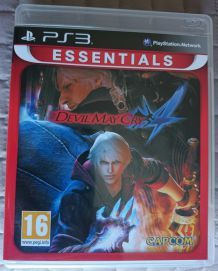 Devil May Cry 4 Version FR Sony PlayStation 3 PS3 jeu Neuf