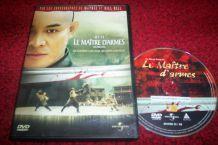 DVD LE MAITRE D'ARMES avec Jet Li film arts martiaux