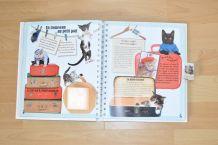 Le livre à surprises des amoureux des chats