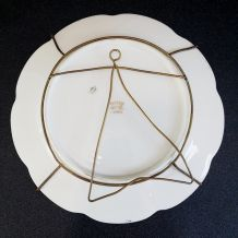 assiette en porcelaine de Limoges
