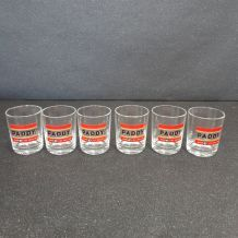 6 petits verres Paddy