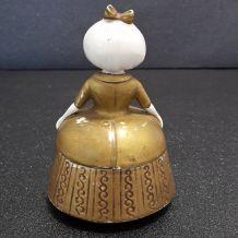 ancienne boite à poudre en porcelaine