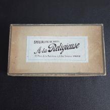boite ancienne en carton