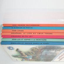 7 livres anciens pour enfants