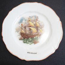 assiette en porcelaine de Limoges Haviland