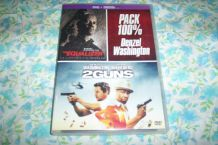 DVD EQUALIZER + 2 GUNS 2 films avec denzel washington