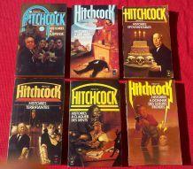 Lot de 6 volumes Alfred Hitchcock