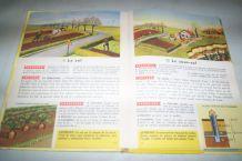 VIEUX MANUEL SCOLAIRE DE 1963 GEOGRAPHIE