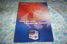 COFFRET  PUB CARREFOUR FOOT BALL EQUIPE DE FRANCE MAGNETS