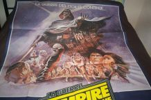 TRES GRANDE AFFICHE CINEMA ORIGINALE L'EMPIRE CONTRE ATTAQUE STAR WARS DE 1980