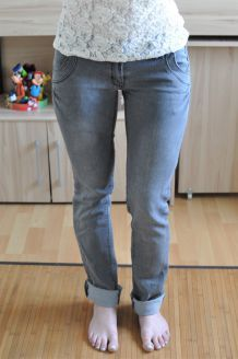 Jean slim gris Mim - Taille 38