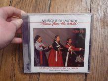 CD Music du Monde- Le Chant Profond de la Corée- Minyo, Korean Folk Songs -Neuf