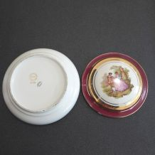 boite en porcelaine de Limoges