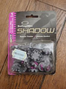 1 Set de Crampons De Golf Gris/Rose - Softspikes - Shadow - Large Plastic Thread - 12F0T1K