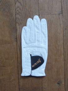 Gant de Golf Blanc Paume Gauche Femme- Taille L- Srixon