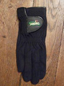 Gant de Golf Homme pour droitier Noir-Taille 24- Neuf- Jandiro