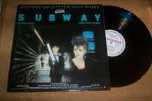 disque 33 tours B.O.FILM SUBWAY isabelle adjani christophe lambert