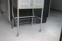 Meuble industriel 6 tiroirs sur roulettes