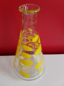 Carafe en verre 60's