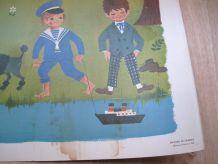 Affiche scolaire Daniel et Valérie