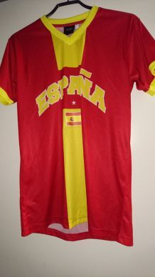 2 MAILLOTS ESPAGNE NEUF