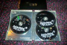 BOITIER METAL 2 DVD + 1 CD TOKIO HOTEL ZIMMER LIVE