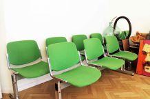 Banc fauteuil Design Giancarlo Piretti 1960s pour Castelli