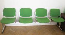 Banc fauteuil Design Giancarlo Piretti Castelli 1960s