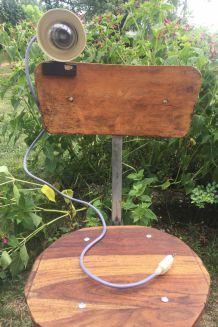 Lampe vintage à pince