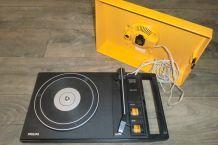 Tourne disque vintage des années 70