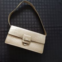 sac à main doré