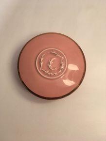 Boite en céramique rose