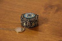 Lot de 2 petites boîtes à bijoux
