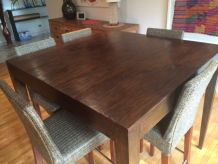 Table Haute et ses 5 tabourets