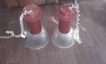 paire de suspensions industrielles