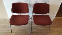 Lot de 4 chaises Design Giancarlo Piretti