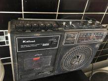 Ancien radio cassette kaisui